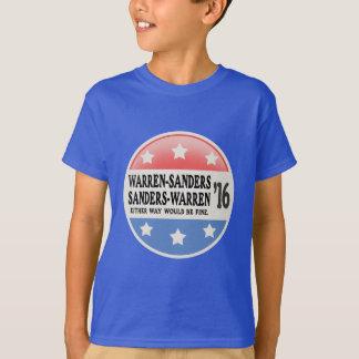 Warren - Sanders, Sanders Warren Tshirts