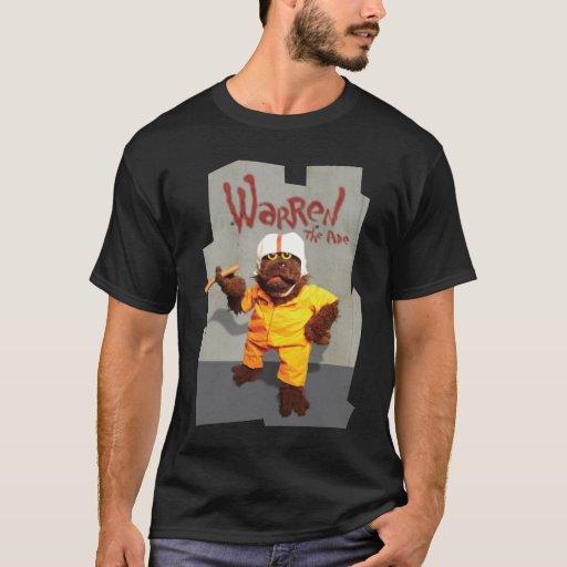 "Warren the Ape - ""Prison"" - dark apparel T-Shirt"