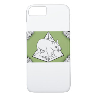 Warren the Wombat iPhone 7 case
