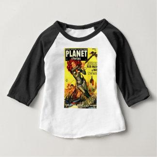 Warrier Maiden on Mars Baby T-Shirt