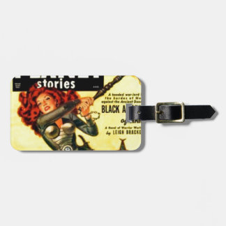 Warrier Maiden on Mars Luggage Tag