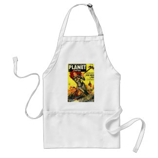 Warrier Maiden on Mars Standard Apron