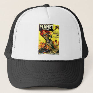 Warrier Maiden on Mars Trucker Hat