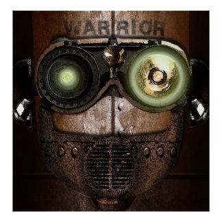 Warrior Bot Poster