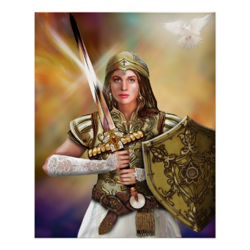 Warrior Bride of Christ Poster