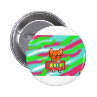 Warrior Cats 2 Inch Round Button
