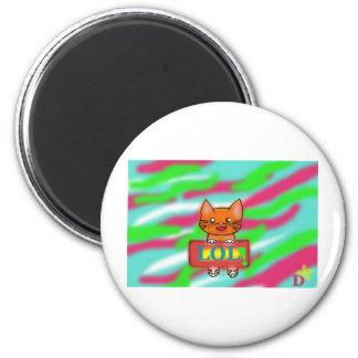 Warrior Cats 2 Inch Round Magnet