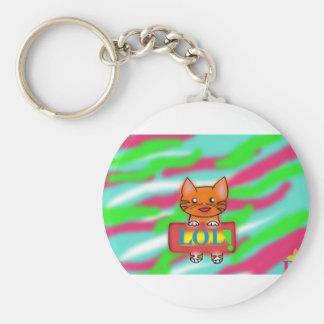 Warrior Cats Basic Round Button Keychain