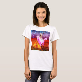 Warrior cats - colorful cats - abstract art T-Shirt