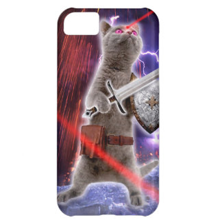 warrior cats - knight cat - cat laser case for iPhone 5C