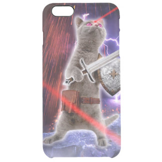 warrior cats - knight cat - cat laser clear iPhone 6 plus case