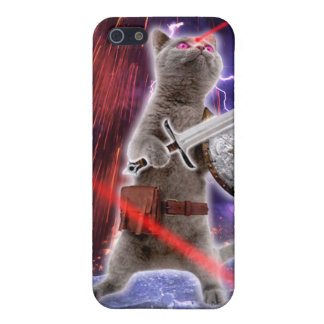 warrior cats - knight cat - cat laser iPhone 5/5S covers