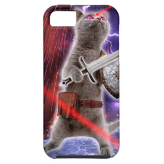 warrior cats - knight cat - cat laser iPhone 5 cover