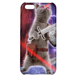 warrior cats - knight cat - cat laser iPhone 5C cover