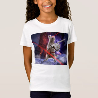 warrior cats - knight cat - cat laser T-Shirt