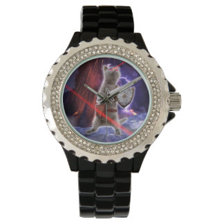 warrior cats - knight cat - cat laser watch