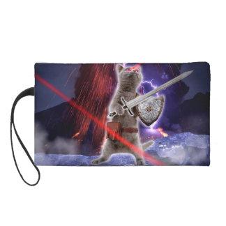 warrior cats - knight cat - cat laser wristlet
