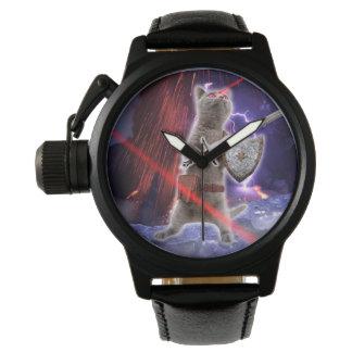 warrior cats - knight cat - cat laser wristwatch
