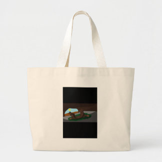 Warrior cats large tote bag