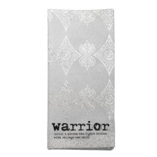 Warrior Definirion Napkin