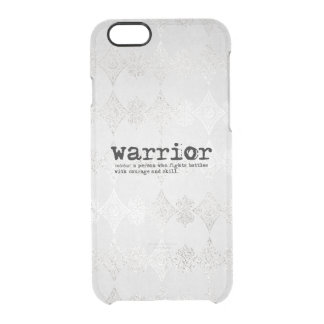 Warrior Definition Clear iPhone 6/6S Case