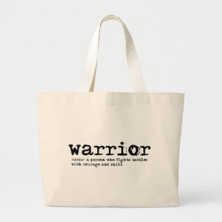 Warrior Definition Jumbo Tote