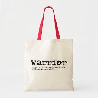 Warrior Definition Tote Bag