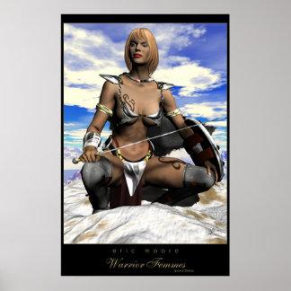 Warrior Femmes-Ishara Poster