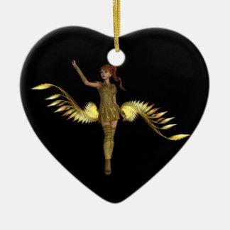 Warrior Girl Ornament