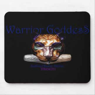 warrior goddess- sekhmet/ bastet/ mafdet Egyptian Mouse Pad
