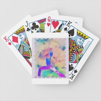 Warrior Goddess Yoga Series Bicycle Playing Cards