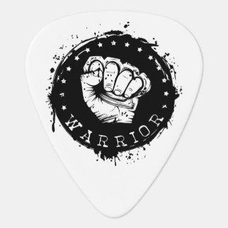 warrior guitar pick