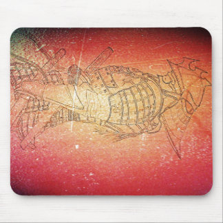 Warrior II Mouse Pad