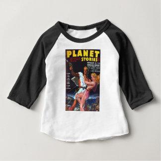 Warrior in White Fur Baby T-Shirt
