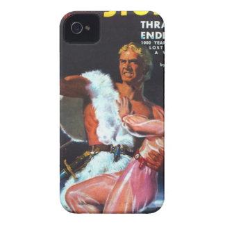 Warrior in White Fur Case-Mate iPhone 4 Case