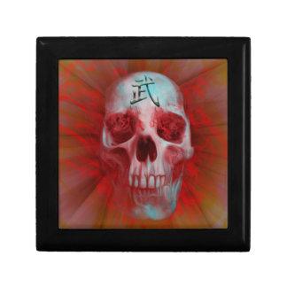 Warrior Kanji skull Gift Box