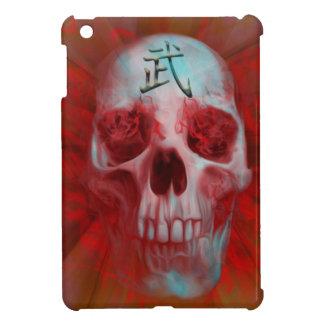 Warrior Kanji skull iPad Mini Case