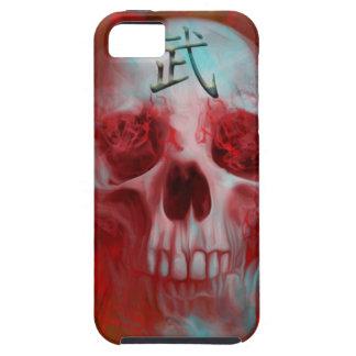 Warrior Kanji skull iPhone 5 Case
