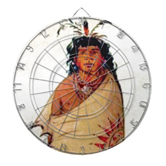 warrior male dartboard