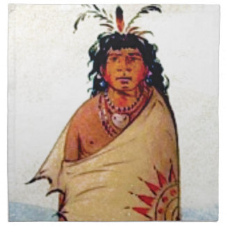 warrior male napkin