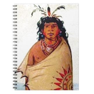 warrior male notebook