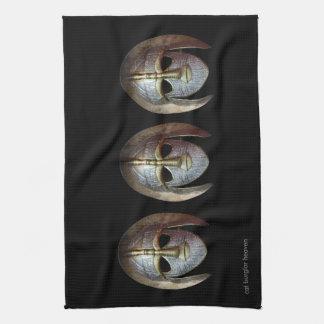Warrior Mask Kitchen Towel