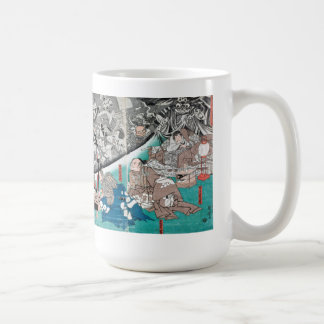 Warrior Minamoto Raiko and the Earth Spider Coffee Mug