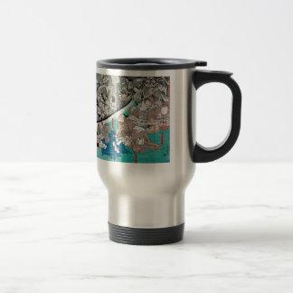 Warrior Minamoto Raiko and the Earth Spider Travel Mug