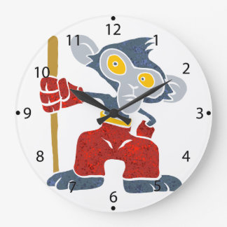 Warrior Monkey . Clocks