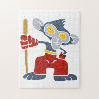 Warrior Monkey . Puzzles