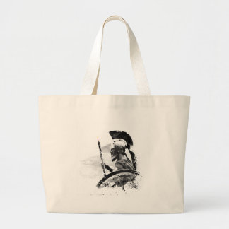 Warrior Oboe Player Large Tote Bag