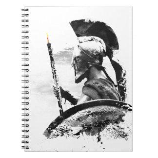 Warrior Oboe Player Notebook
