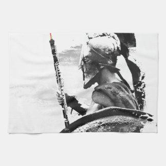 Warrior Oboe Player Towel