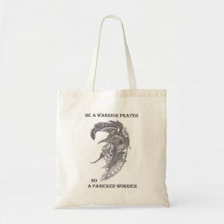 Warrior Prayer Tote Bag